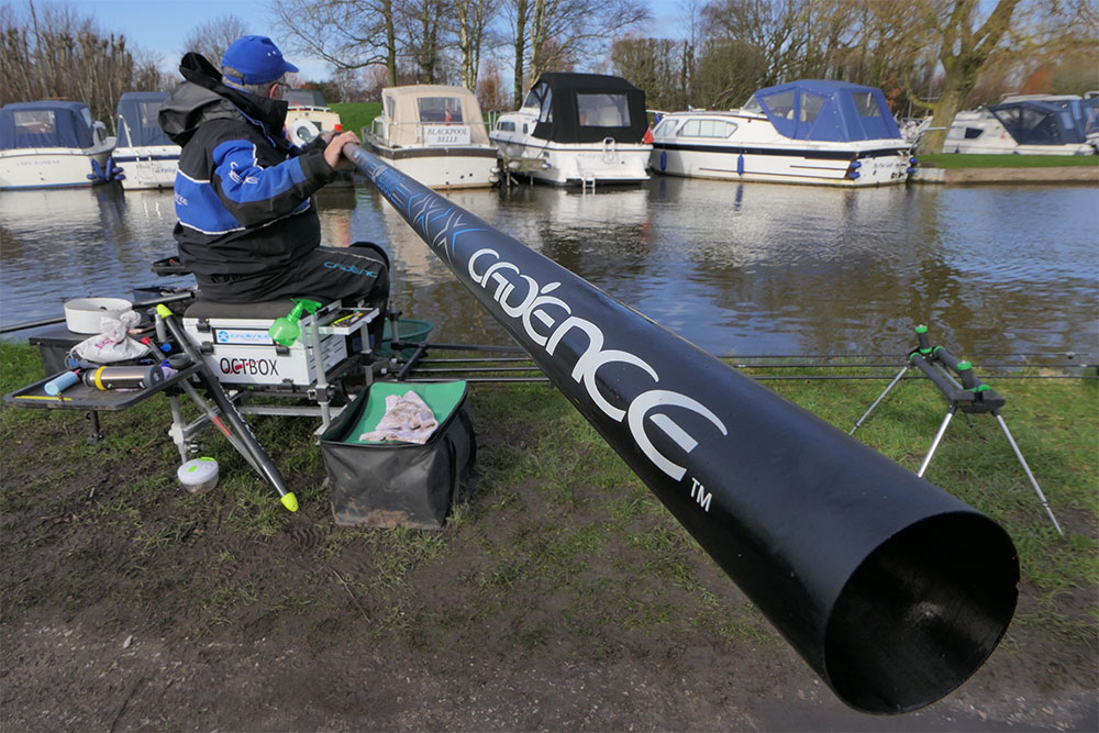 The Cadence CP2000 is a reliable, stiff and responsive piece of kit and is more than up to fishing in a testing sidewind.
